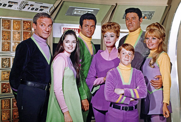 The cast of Lost in Space