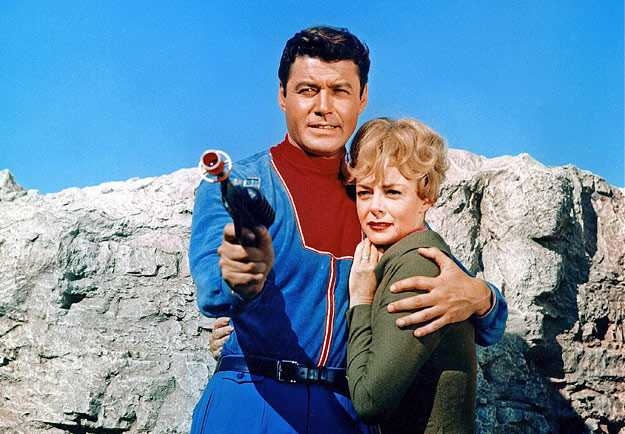 Guy Williams and June Lockhart