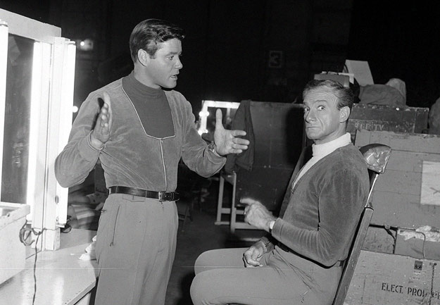 Guy Williams and Jonathan Harris