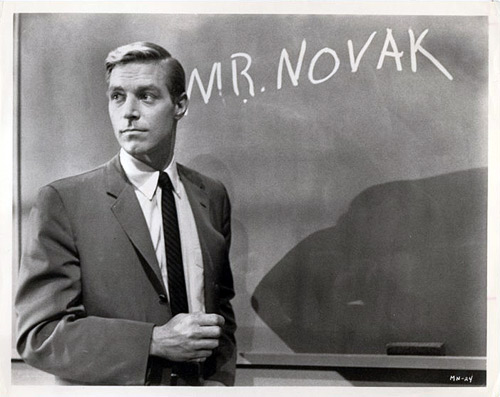 A scene from Mr. Novak