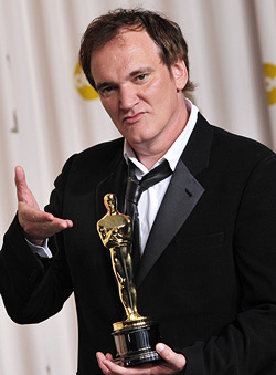 Quentin Tarantino and his Oscar for Pulp Fiction