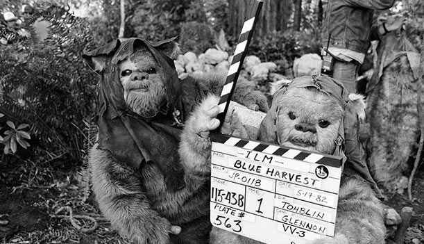 Filming Ewoks in Northern California