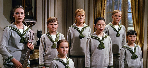 A scene from The Sound of Music