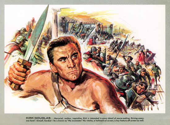 Spartacus program painting