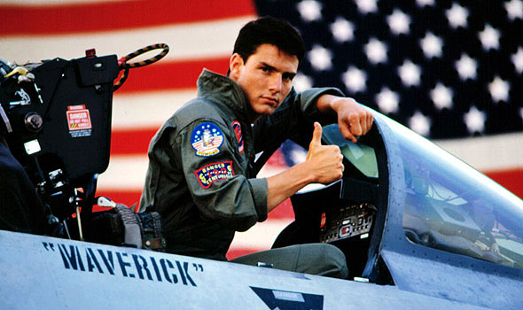 Ton Cruise in Top Gun