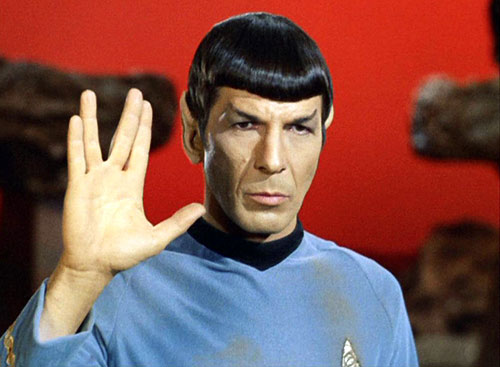 Spock from Amok Time