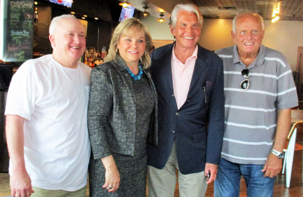 Bud Elder, OK Governor Mary Fallin, George Hamilton & Gray Frederickson, July 2016