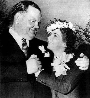 Oliver Hardy & Lucile Hardy-Price