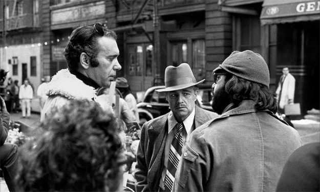 Albert S. Ruddy on the set of The Godfather