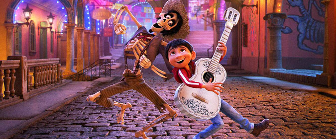 Bill reviews Disney & Pixar's dazzling CG-animated Coco in 4K Ultra HD!