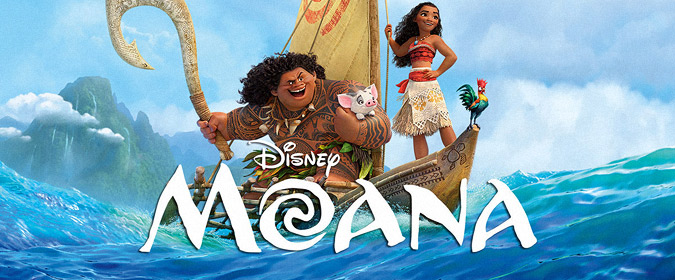 Walt Disney Studios sets the CG-animated Moana for Blu-ray 3D, Blu-ray, and DVD release on 3/7