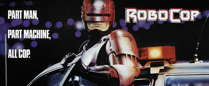 Michael Coate & author Calum Waddell celebrate the 30th anniversary of Paul Verhoeven's RoboCop