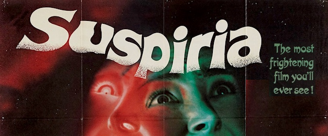 Michael Coate celebrates the 40th anniversary of Dario Argento's Suspiria with filmmaker Vincent Pereira