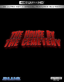 The House by the Cemetery (4K-UHD Disc)