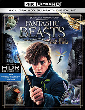 Fantastic Beast and Where to Find Them (4K Ultra HD Blu-ray)