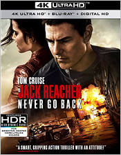 Jack Reacher: Never Go Back (4K Ultra HD Blu-ray)