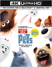 The Secret Life of Pets (4K Ultra HD Blu-ray)