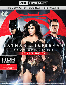Batman v Superman: Dawn of Justice - Ultimate Edition (4K UHD Blu-ray)