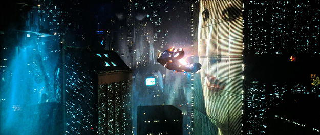 A scene from Blade Runner: The Final Cut in 4K