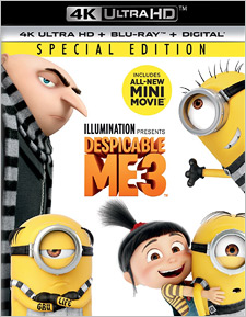 Despicable Me 3 (4K Ultra HD Blu-ray)