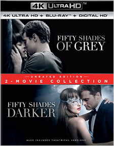 Fifty Shades of Grey/Fifty Shades Darker (4K Ultra HD Blu-ray)