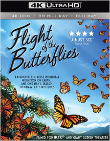Flight of the Butterflies (4K Ultra HD Blu-ray Disc)