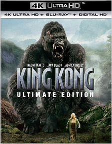 King Kong (2005): Ultimate Edition (4K Ultra HD Blu-ray)