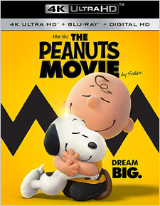 The Peanuts Movie (4K Ultra HD Blu-ray Disc)