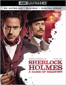 Sherlock Holmes: A Game of Shadows (4K Ultra HD)