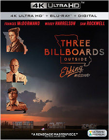 Three Billboards Outside Ebbing, Missouri (4K Ultra HD)