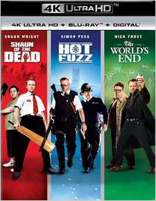 Three Flavours Cornetto Trilogy (4K Ultra HD)