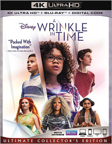 A Wrinkle in Time (4K Ultra HD Blu-ray)