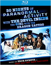 30 Nights of Paranormal Activity with the Devil Inside the Girl with the Dragon Tattoo (Blu-ray Disc)