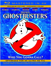 Ghostbusters (Mastered in 4K BD)