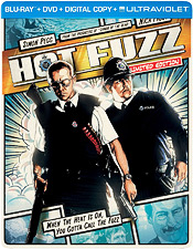 Hot Fuzz (Steelbook Blu-ray Disc)