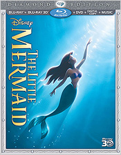 The Little Mermaid 3D: Diamond Edition (Blu-ray Disc)