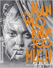 The Man Who Knew Too Much (Criterion Blu-ray Disc)