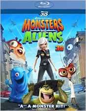 Monsters vs. Aliens 3D (Blu-ray 3D)