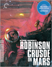 Robinson Crusoe on Mars (Criterion Blu-ray Disc)