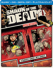 Shaun of the Dead (Steelbook Blu-ray Disc)