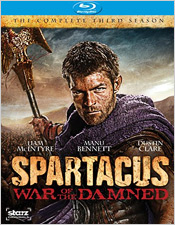 Spartacus: War of the Damned - Season Three (Blu-ray Disc)