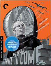Things to Come (Criterion Blu-ray Disc)