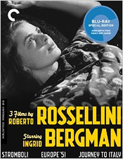 3 Films by Roberto Rossellini Starring Ingrid Bergman (Criterion Blu-ray Disc)