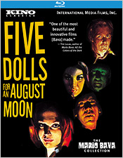 Five Dolls for an August Moon (Blu-ray Disc)