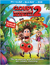 Cloudy with a Chance of Meatballs 2 (Blu-ray 3D)