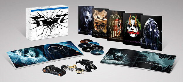 The Dark Knight Trilogy: UCE (Blu-ray Disc)
