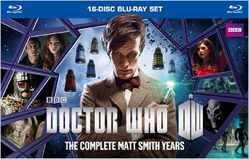 Doctor Who: The Matt Smith Years (Blu-ray Disc)