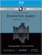 Downton Abbey: Seasons 1-4 (Blu-ray Disc)