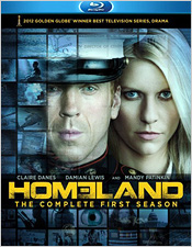 Homeland: The Complete First Season (Blu-ray Disc)