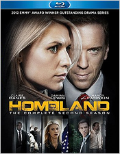 Homeland: The Complete Second Season (Blu-ray Disc)